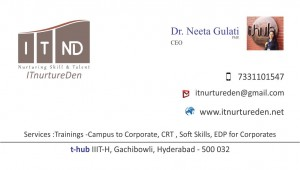 ITND Visiting card2